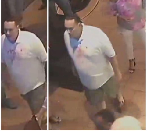 Police are seeking the public's assistance in identifying a man sought for questioning in connection with an alleged fight at a South Beach restaurant. (NYPD/Twitter)