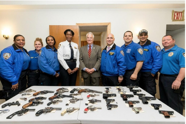 The NYPD gun buyback event will be held Sept. 22, 2018 in Stapleton. (File photo)