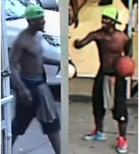 The NYPD released this photo of a man sought in connection with a robbery in Brooklyn. (Courtesy of NYPD)