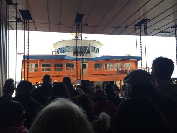 The Staten Island Ferry will be operating on a modified schedule through the end of next week. (Advance file photo)