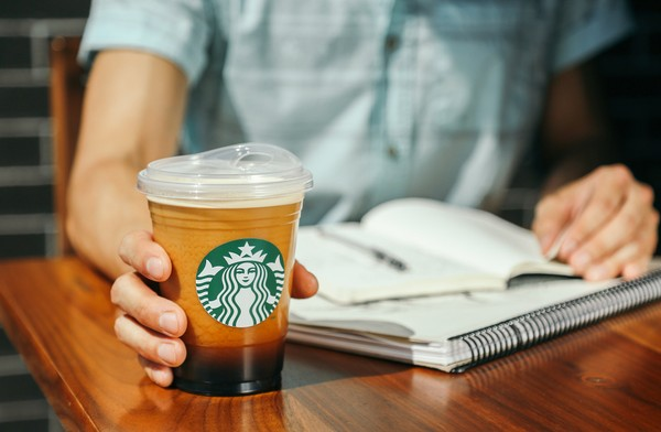 Starbucks is eliminating plastic straws from its locations around the world. (Starbucks photo)