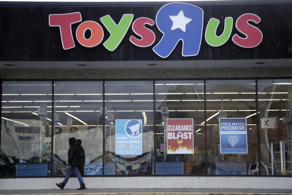 Toys R Us has announced it is closing all of its U.S. stores. (AP Photo/Julio Cortez, File)