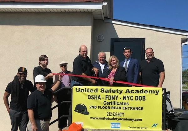 The United Safety Academy opened the training center on Saturday. (Photo courtesy of Michael Arvanites)