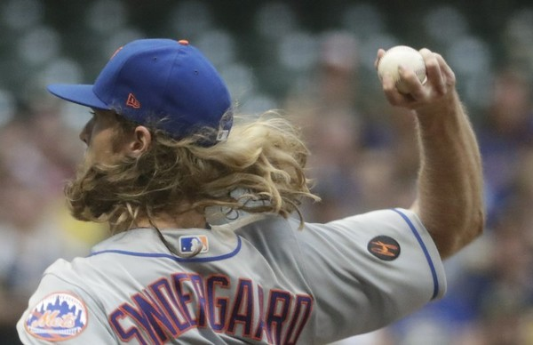 Met hurler Noah Syndergaard has been placed on the disabled list.