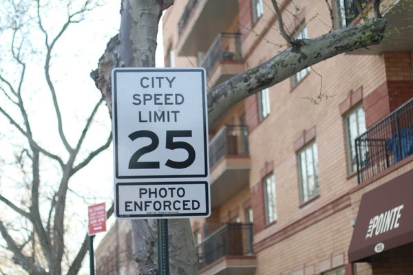 No matter what you think of Vision Zero, the fact remains that the speed limit here and across the city has been lowered. (Staten Island Advance photo)
