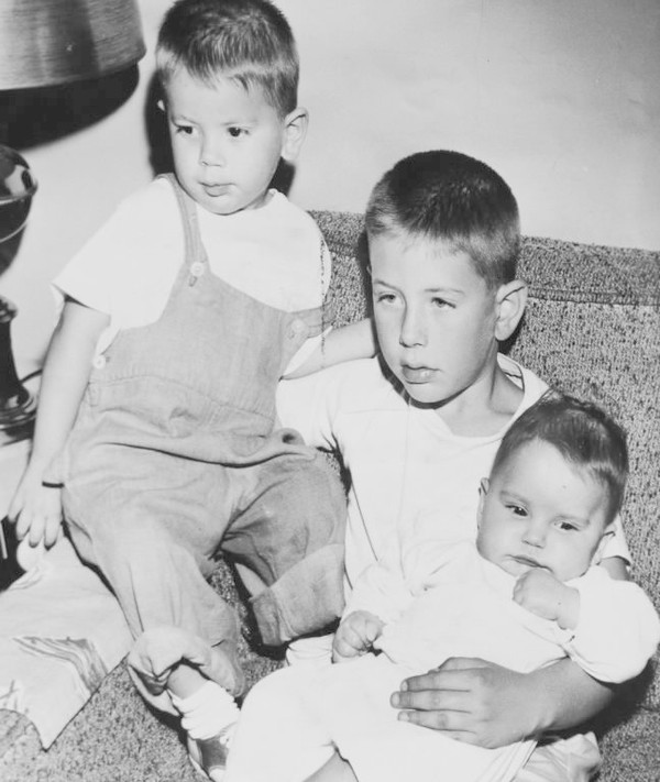 Eight-year-old Dean Nimer, flanked by his brother, Gregory (left), and his sister, Jennifer, was at the center of a murder case that stunned the nation in 1958, and continues to generate discussion and debate to this day.