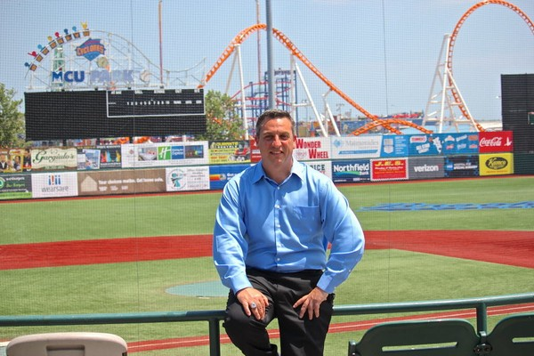 Aside from a two-year period with the Staten Island Yankees, Tottenville resident Gary Perone has been with the Brooklyn Cyclones since their inception in 2001.