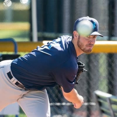 Great Kills resident Matt Festa deals for the Seattle Mariners during his MLB debut in July.