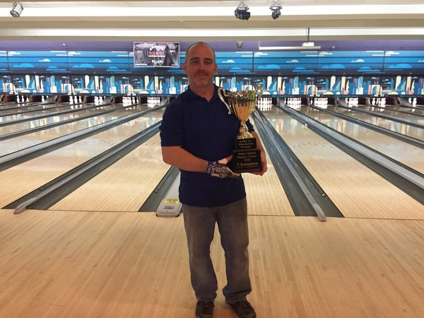 Jeff Scire after winning the 41st annual Staten Island Singles Classic finals.