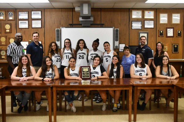 The Susan Wagner girl's lacrosse team was recognized for its outstanding sportsmanship.