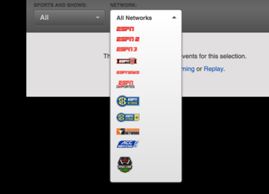 How to find ACC Network Extra (Watch league games online