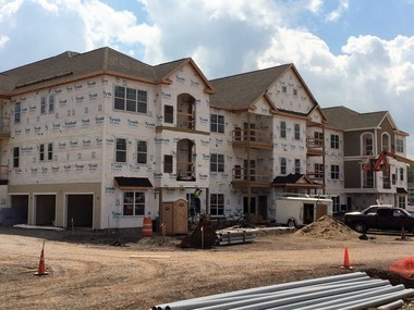 Morgan Management is building a 443-unit apartment complex, The Landings at Meadowood, at the site of the former Tri-County Mall on Downer Street in Baldwinsville. The project received $5 million in tax exemptions from the Onondaga County Industrial Development Agency.