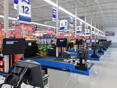 Registers are ready for customers at the Price Rite supermarket at 611 South Ave. in Syracuse. The 35,000-square-foot store is scheduled to open April 2, 2017.