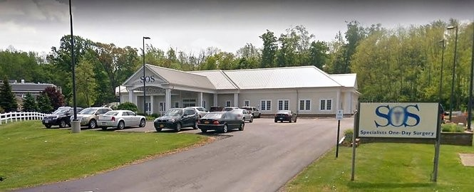 Syracuse Orthopedic Specialists' one-day surgery center at 190 Intrepid Lane in Syracuse opened in 2002. (Google Maps screenshot)