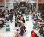 The ShoppingTown food court back in its heyday in 1996.