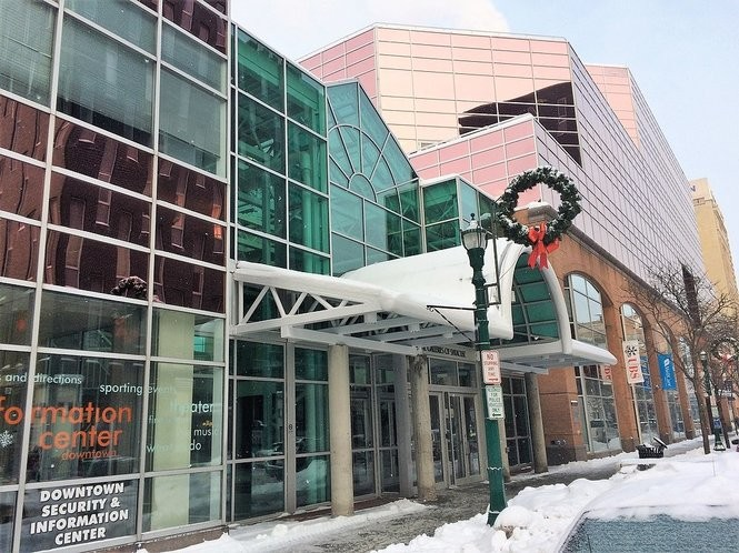 TCGplayer, which has created an online marketplace for the sale of new and used collectible trading cards, is considering moving its headquarters from Armory Square to the Galleries of Syracuse, shown here on Jan. 16, 2018. (Rick Moriarty | rmoriarty@syracuse.com)