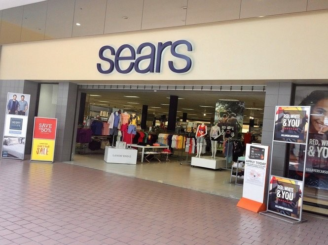 Fifty-seven employees at the Sears store in the Great Northern Mall in Clay will be laid off when the store closes at the end of September.