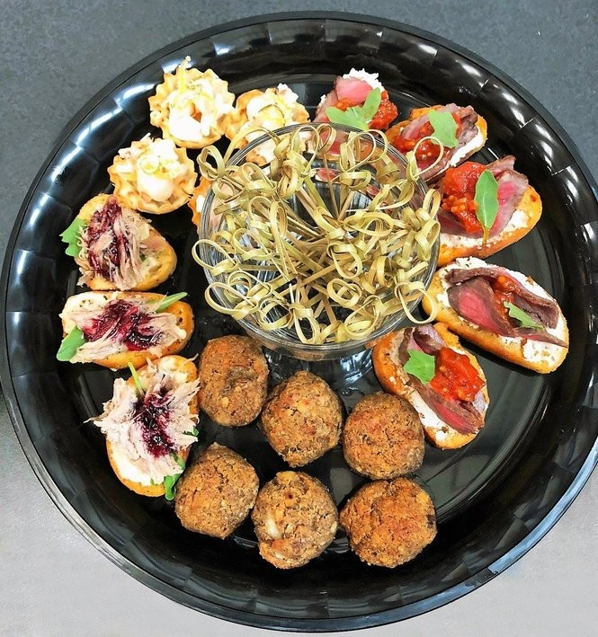One of the dishes offered by Mission District Catering, a new enterprise of the Rescue Mission Alliance in Syracuse. (Courtesy of Rescue Mission Alliance)