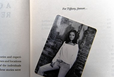 While in prison, Keir Weimer wrote a memoir and dedicated it to Tiffany Heitkamp.