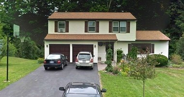This is 408 Weatheridge Drive in Camillus. Mark and Christina Rotondo are in court trying to evict their son, Michael, from their home.