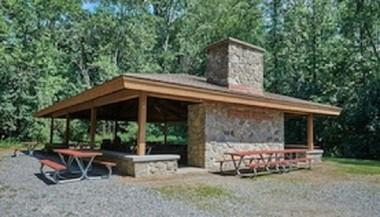 The McKinley Ridge West Pavilion is in Oneida Shores Park in Cicero.