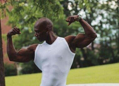 """Anthony """"Bashir"""" Brigman is a professional bodybuilder, personal trainer and vitamin specialist."""