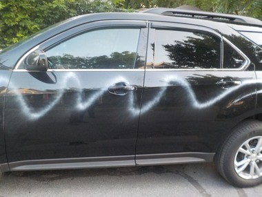 Auburn police say at least 10 cars were vandalized with paint overnight in the Woodruff Place, Easterly Avenue and Westlake Avenue area.