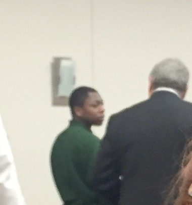 Knowledge Powell stands for sentencing in County Court.