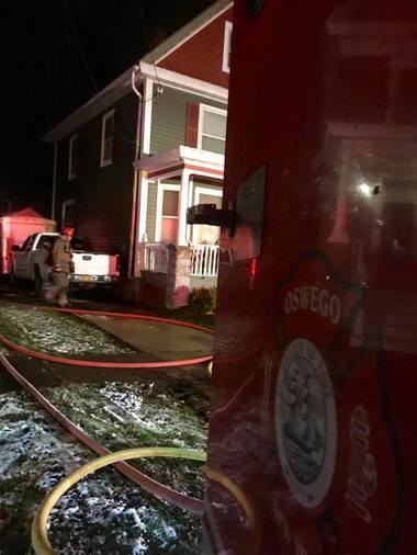 Oswego firefighters respond to report of explosion, house