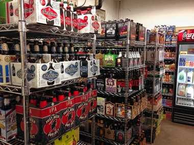 Brilbeck's Corner Market on Tipp Hill carries a wide selection of American and imported craft beers.