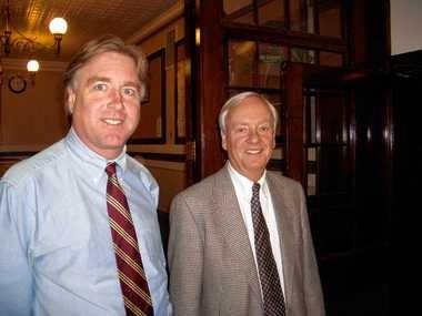 Matt (Saranac) Brewing Co.'s Fred Matt, the company president, and Nick Matt, the chairman..