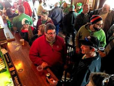 The Blarney Stone on Avery Avenue in Syracuse was packed with patrons last St. Patrick's Day.