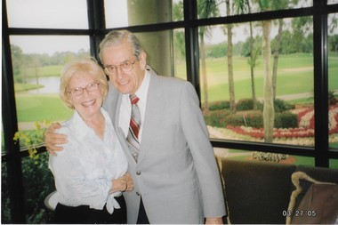 "Barbara and Richard ""Dick"" Shineman in this family photo from 2005. The couple was married for 37 years before Dick passed away in 2010."