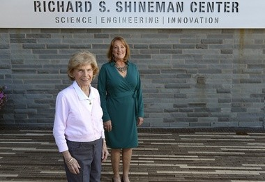 Richard S. Shineman Foundation. Richard passed away and left a $22 million endowment to support programs and non-profits in Oswego County. His widow, Barbara Shineman, and the foundation's director, Karen Goetz. Dennis Nett | dnett@syracuse.com