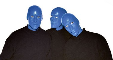 The Blue Man Group tour performs at the Landmark Theatre through Sunday.