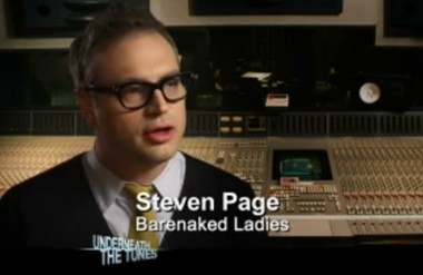 """Former Barenaked Ladies singer Steven Page, who now lives in Manlius, appeared on """"How I Met Your Mother"""" Monday night."""