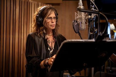 "Steven Tyler appears in the recording studio, voicing the character Nim Galuu in ""Epic."" The Aerosmith frontman also recorded a song for the film's soundtrack."