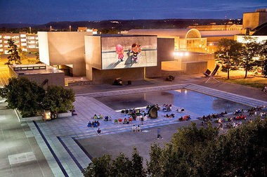 Everson Community Plaza becomes a free outdoor movie theater Friday at 8:30 p.m.