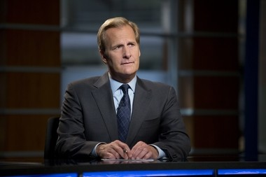 """This undated publicity image released by HBO shows Jeff Daniels as Will McAvoy in the news drama series, """"The Newsroom."""" The second season premieres Sunday, July 14, at 10 p.m. on HBO."""