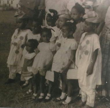 Geraldo De-Souza (far left) and his family.