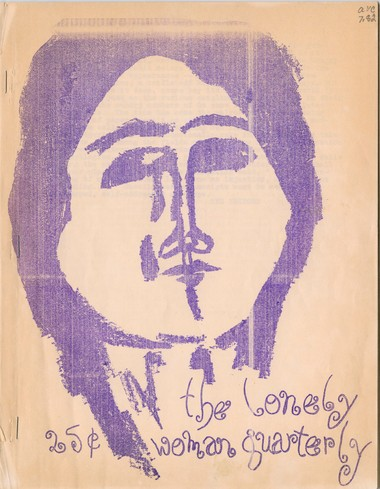 Cover of the inaugural issue of The Lonely Woman Quarterly from May, 1962