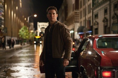 """In this publicity photo provided by Paramount Pictures, actor Tom Cruise appears as the title character in a still from the film, """"Jack Reacher,"""" from Paramount Pictures and Skydance Productions."""