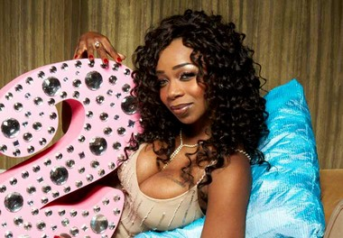 """In this undated photo, provided by VH1, Tiffany """"New York"""" Pollard, the star of VH1's """"I Love New York,"""" poses to promote the racy reality TV show."""