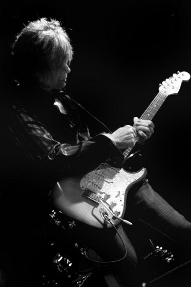 Mark Doyle performs his Guitar Noir at the Auburn Public Theater Friday night.