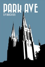 Jason Evans's first and favorite print was this basilica on Park Ave.
