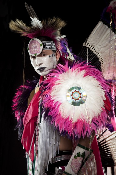 Samsoche Sampson will be performing Hoop and Fancy Dance at this year's Stage of Nations Blue Rain ECOfest Friday and Saturday at Hanover Square in Syracuse.