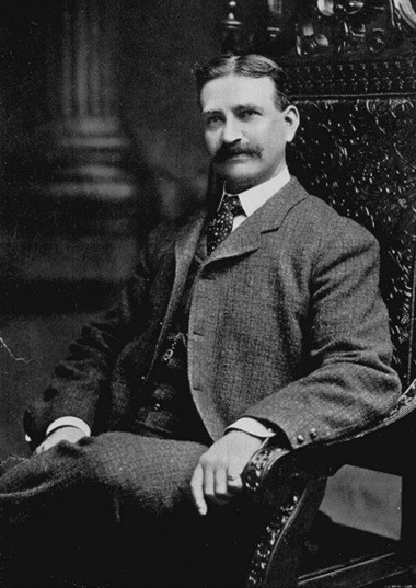 """This is an undated photo of former Syracuse resident and Chittenango native L. Frank Baum, author of """"The Wonderful Wizard of Oz."""""""