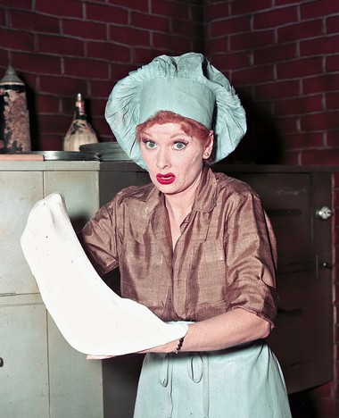 Comedienne and actress Lucille Ball is seen in an undated photo.