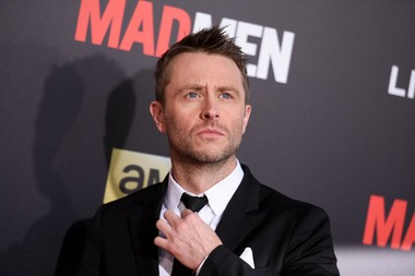 """Chris Hardwick arrives at The Black And Red Ball In Celebration Of The Final Seven Episodes Of """"Mad Men"""" on Wednesday, March 25, 2015, in Los Angeles."""