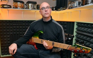 Bill Eppel of the Syracuse band Root Shock.